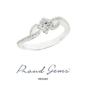 5282RE W 300x300 - แหวนหมั้นเพชร RE5282