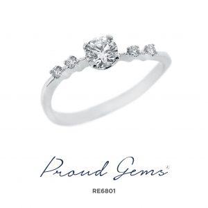 6801RE 300x300 - แหวนหมั้นเพชร RE6801