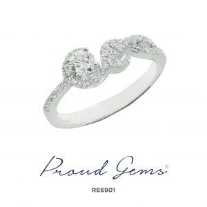 6901RE 300x300 - แหวนหมั้นเพชร RE6901