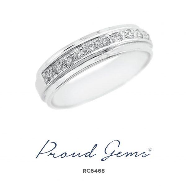 6468RC W 600x600 - แหวนเพชร RC6468
