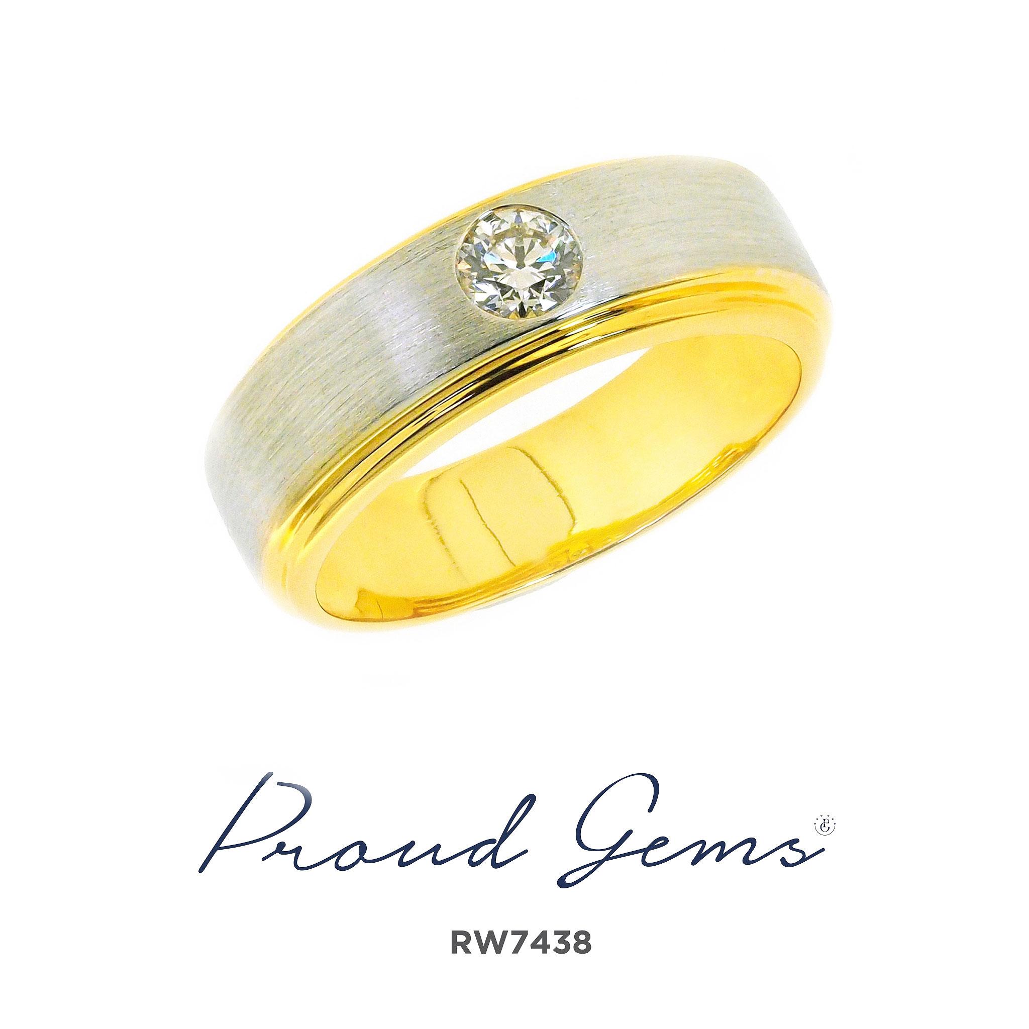 7438RW W 300x300 - แหวนผู้ชาย RW7438