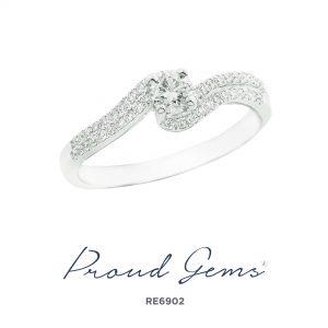 6902RE 300x300 - แหวนหมั้นเพชร RE6902