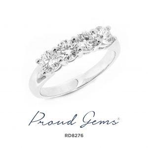 8276RD W 300x300 - แหวนเพชร  RD8276