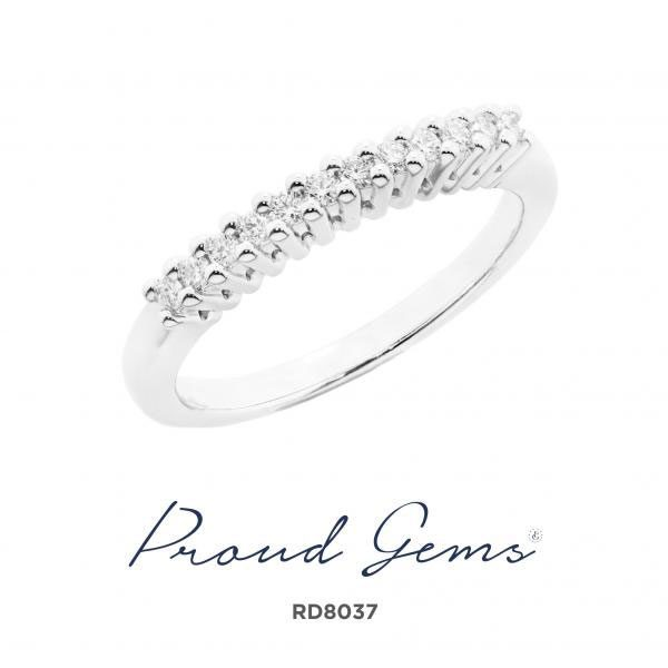8037RD W 600x600 - แหวนเพชร  RD8037
