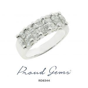 8344RD W 300x300 - แหวนเพชร  RD8344