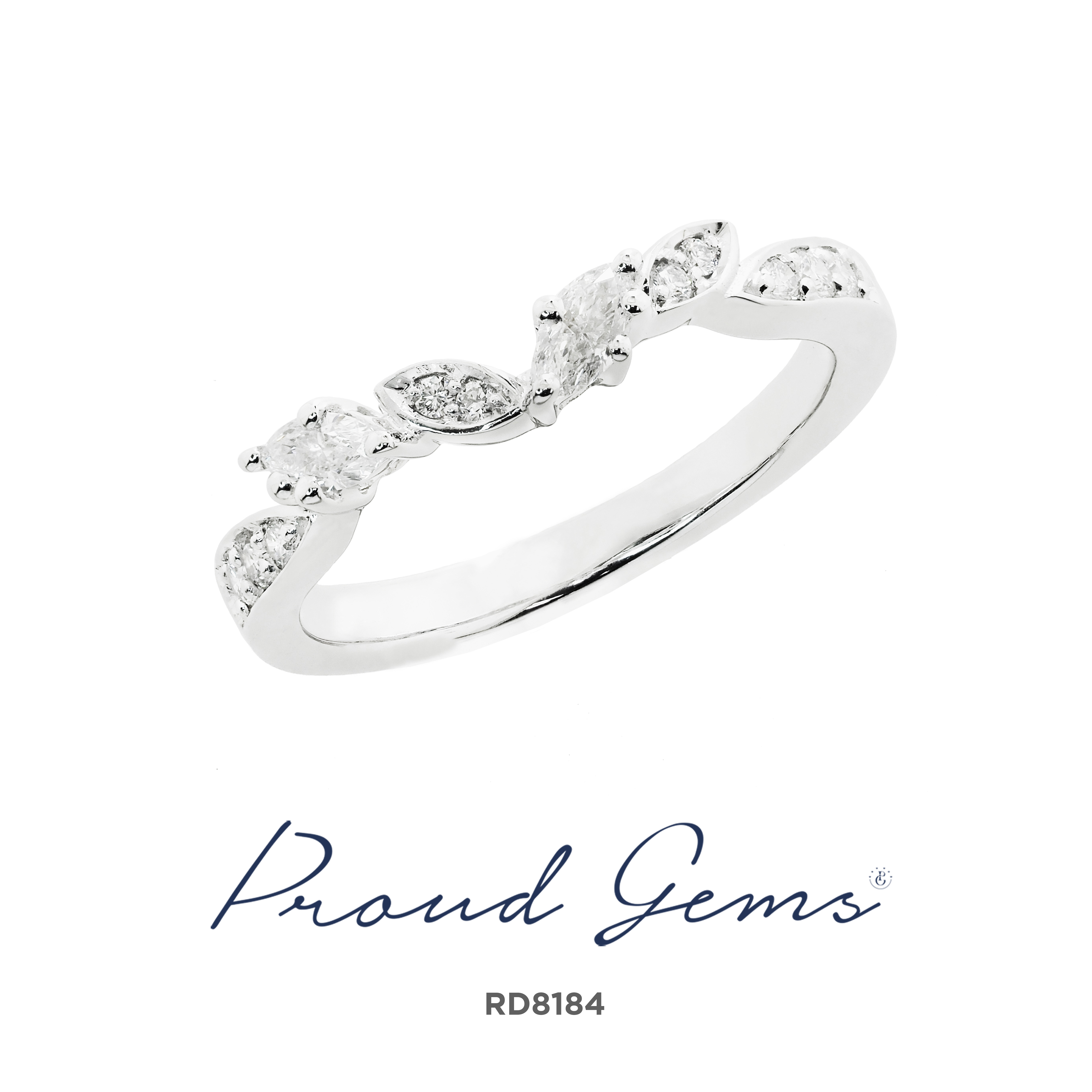 8184 300x300 - แหวนเพชร  RD8184