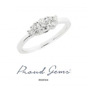 8194RD 300x300 - แหวนเพชร  RD8194