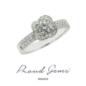 8329RD 300x300 - แหวนเพชร RD8329