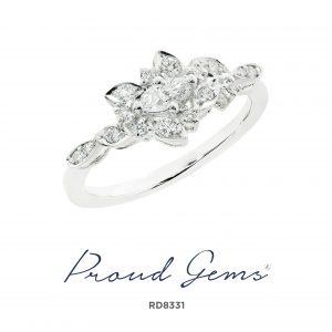 8331RD 300x300 - แหวนเพชร  RD8331