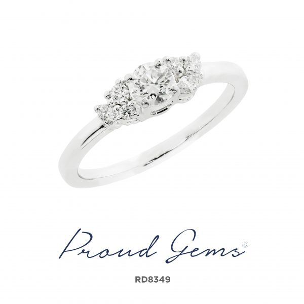 8349RD W 600x600 - แหวนเพชร  RD8349