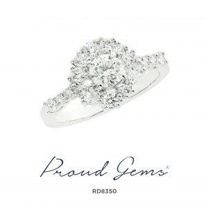8350RD 300x300 - แหวนเพชร  RD8350