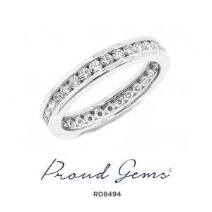8494RD W 300x300 - แหวนเพชร  RD8494