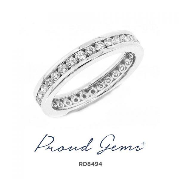 8494RD W 600x600 - แหวนเพชร  RD8494