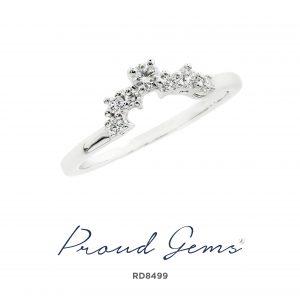 8499RD 300x300 - แหวนเพชร  RD8499