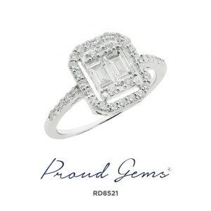 8521RD W 300x300 - แหวนเพชร  RD8521