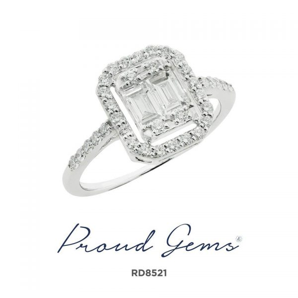 8521RD W 600x600 - แหวนเพชร  RD8521