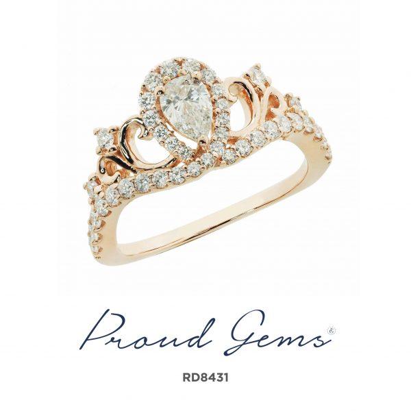 8431RD W 600x600 - แหวนเพชร  RD8431