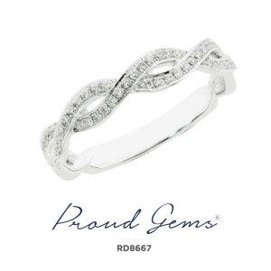 8667RD W 300x300 - แหวนเพชร  RD8667