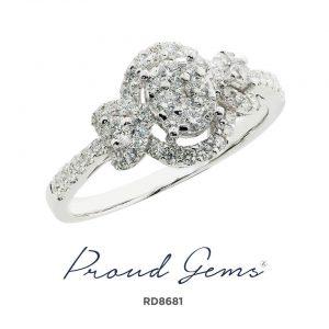 8681RD W 300x300 - แหวนเพชร  RD8681