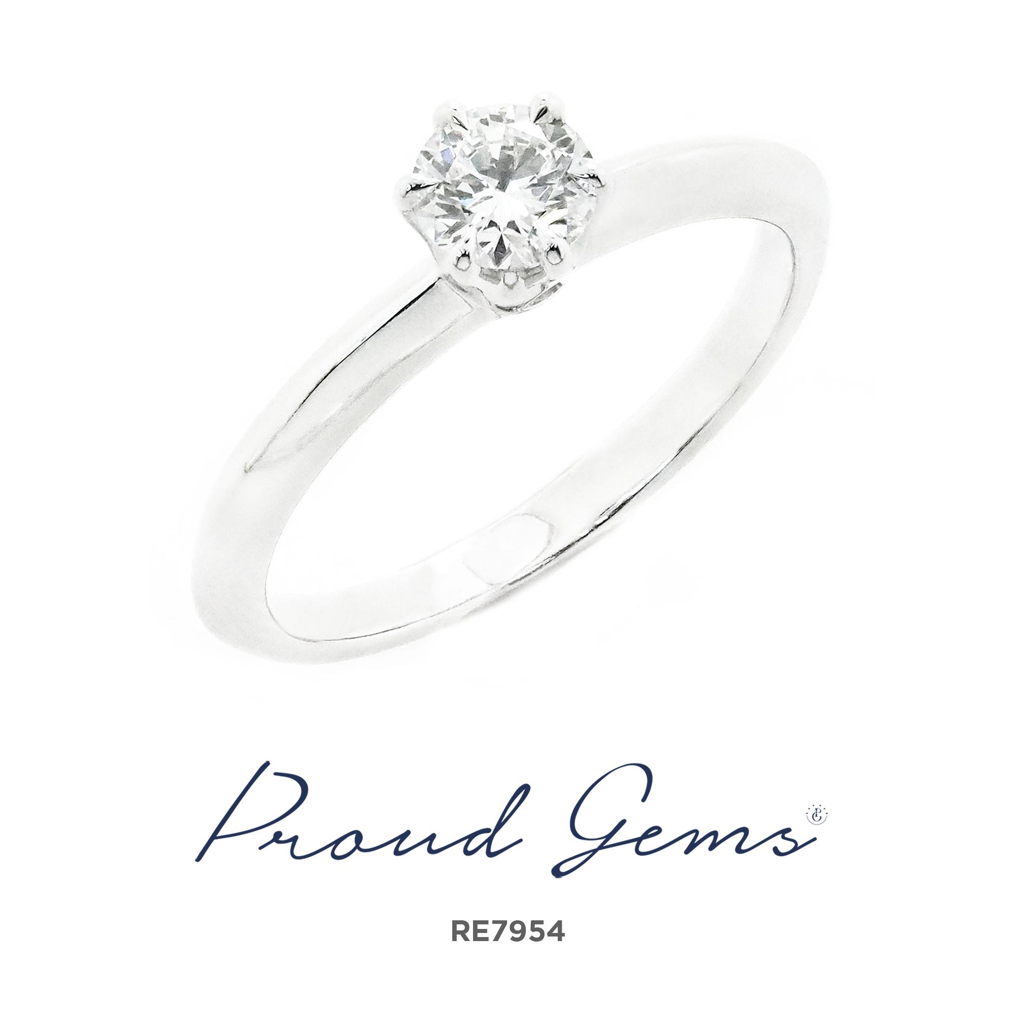 7954RE 300x300 - แหวนหมั้นเพชร RE7954