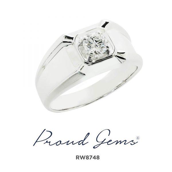 8748RW W 600x600 - แหวนผู้ชาย  RW8748
