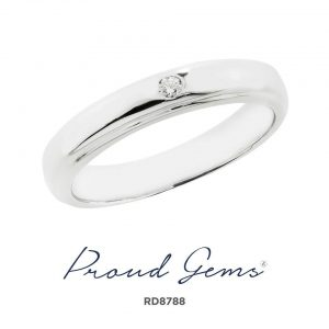 8788RD W 300x300 - แหวนเพชร  RD8788