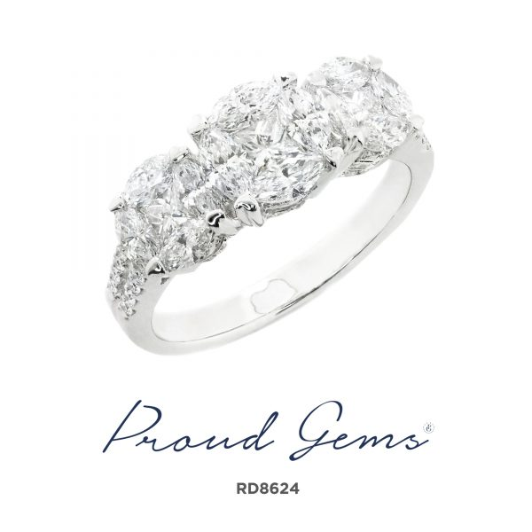 8624RD 600x600 - แหวนเพชร  RD8624