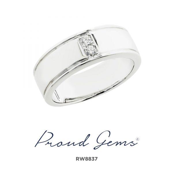8837RW W 600x600 - แหวนผู้ชาย  RW8837