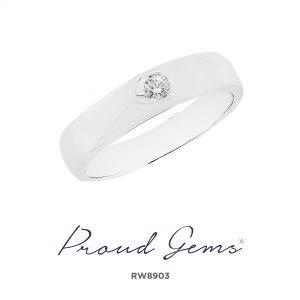 8903RW W 300x300 - แหวนผู้ชาย  RW8903