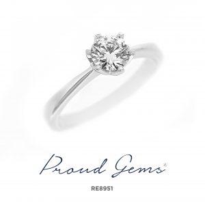 8951RE 300x300 - แหวนหมั้นเพชร RE8951 (ราคาเงินสด)