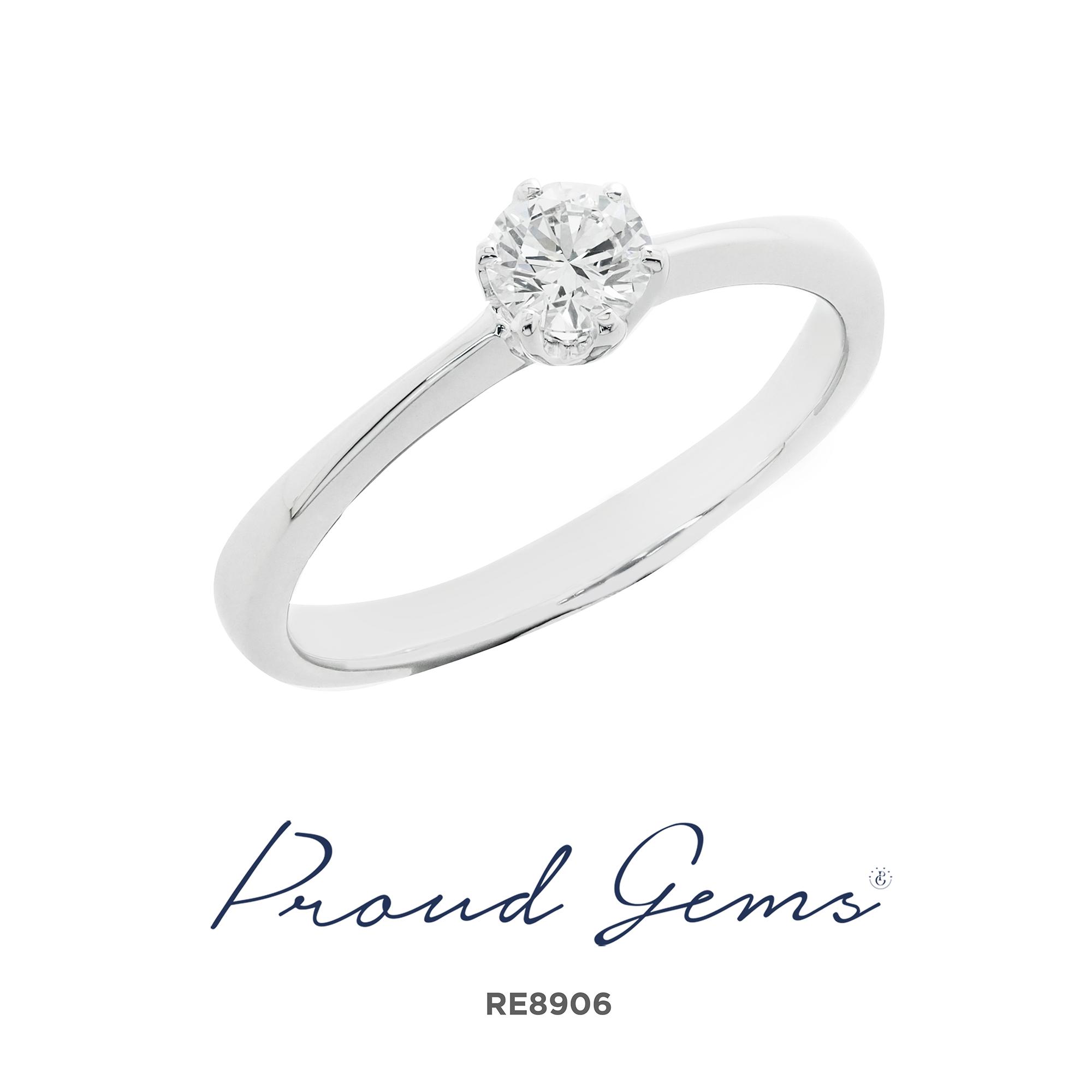 8906RE 3 - แหวนหมั้นเพชร RE9001