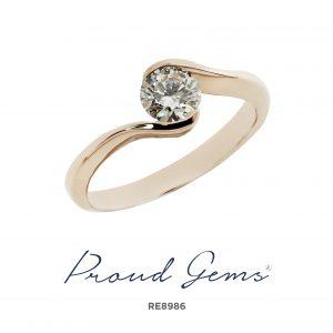 8986RE 300x300 - แหวนหมั้นเพชร RE8986