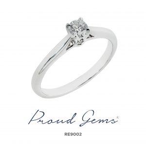9002RE 300x300 - แหวนหมั้นเพชร RE9002
