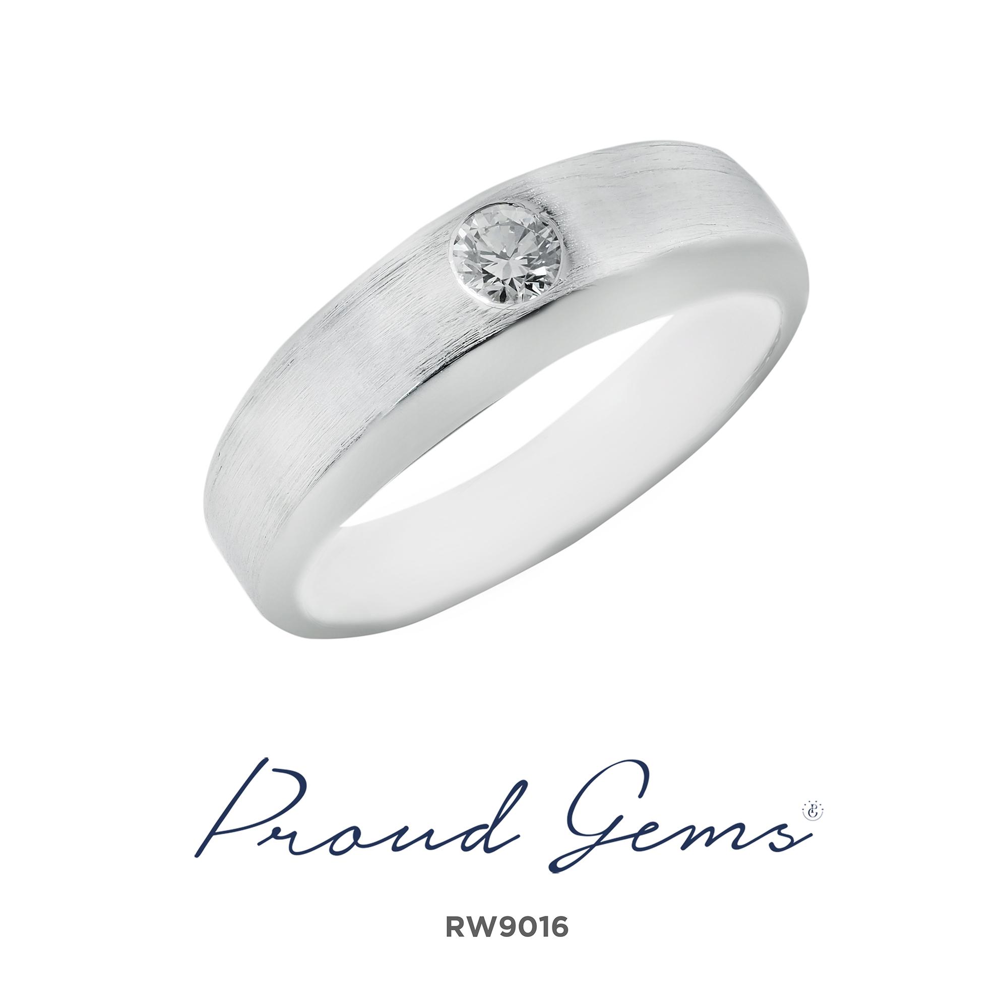 9016RW 1 - แหวนเพชร  RD9027