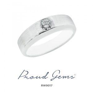 9017RW W 300x300 - แหวนผู้ชาย  RW9017
