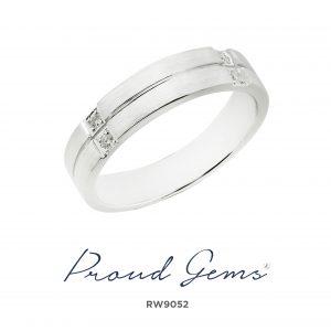 9052RW 300x300 - แหวนเพชรผู้ชาย RW9052