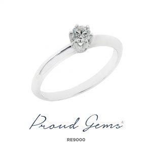 9000RE 300x300 - แหวนหมั้นเพชร RE9000