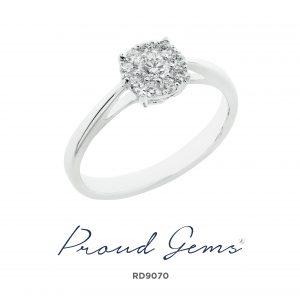 9070RD 300x300 - แหวนเพชร  RD9070