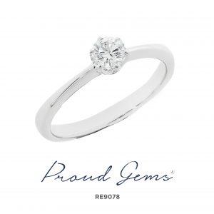 9078RE 300x300 - แหวนหมั้นเพชร RE9078