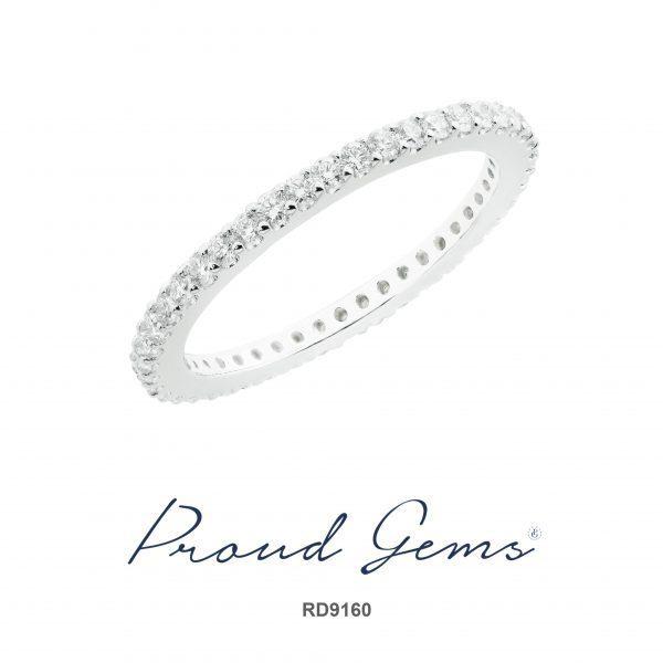 9160RD W 600x600 - แหวนเพชร RD9160