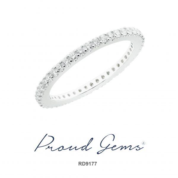 9177RD W 600x600 - แหวนเพชร RD9177